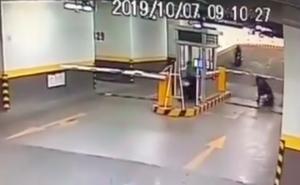 Video: Ngang nhiên vào hầm trộm xe, bảo vệ không thể ngăn cản